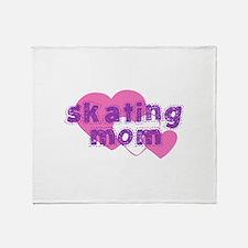 Skating Mom 3 Throw Blanket
