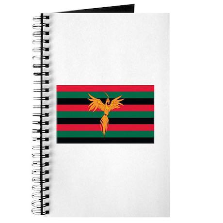 Aboriginal Moabite Nation Flag Journal by