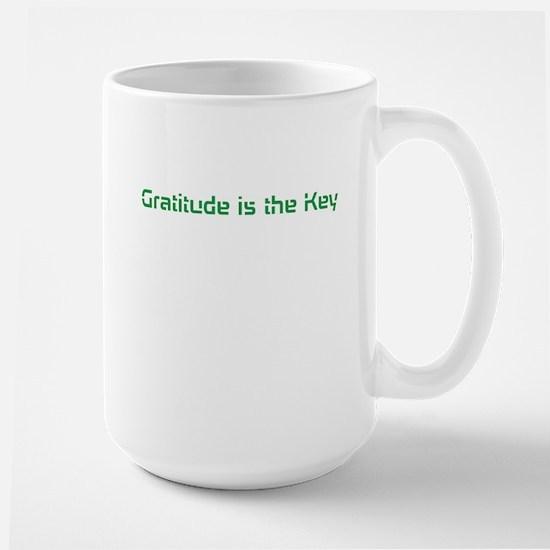 Gratitude Large Mug