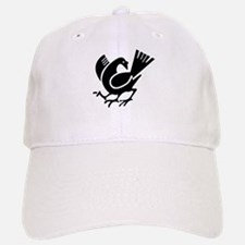 Three Legged Crow Baseball Baseball Cap