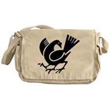 Three Legged Crow Messenger Bag