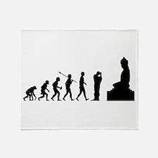 Buddhist Throw Blanket