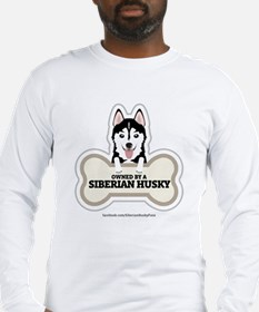 Owned by a Husky Long Sleeve T-Shirt