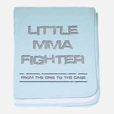 Little MMA Fighter baby blanket