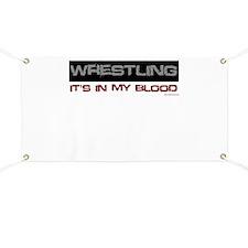 Wrestling in blood Banner