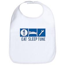 Eat Sleep Tune Bib