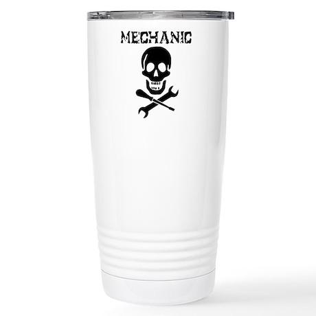 Mechanic Pirate Stainless Steel Travel Mug