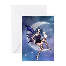 Fairy Greetings Card - Moonlight Fairy