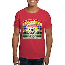 Spain Espana European Soccer 2012 T-Shirt