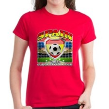 Spain Espana European fútbol 2012 Tee