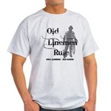 T shirts electrical lineman Clothing