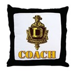 Dominguez High Coach Throw Pillow