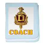 Dominguez High Coach baby blanket