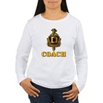 Dominguez High Coach Women's Long Sleeve T-Shirt