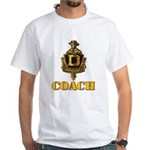 Dominguez High Coach White T-Shirt
