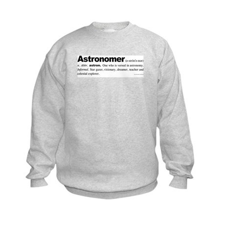 Astronomer Kids Sweatshirt