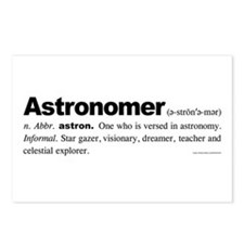 Astronomer Postcards (Package of 8)
