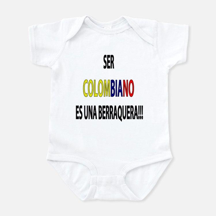 Ser Colombiano s una berraquera Infant Creeper
