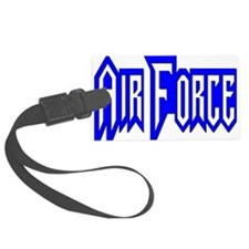 Cute Air force aunt Luggage Tag