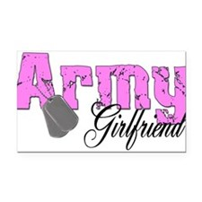 armygirlfriend99.png Rectangle Car Magnet