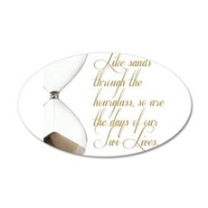 Days of our Twi-Lives Wall Sticker