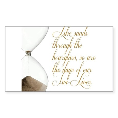 Days of our Twi-Lives Sticker (Rectangle 10 pk)