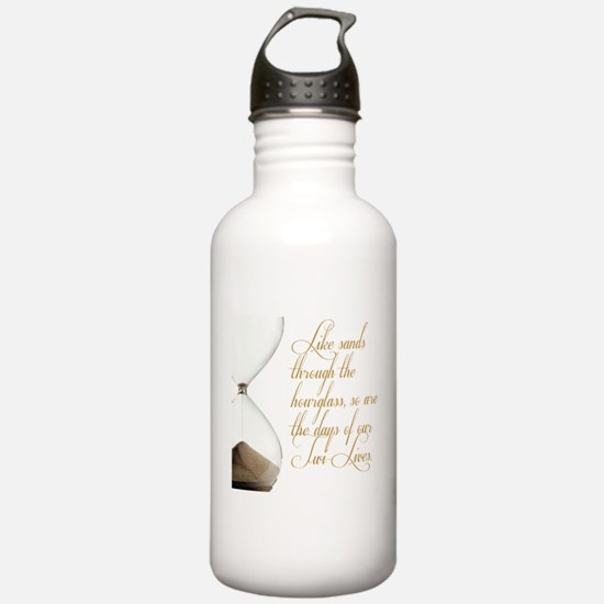 Days of our Twi-Lives Water Bottle