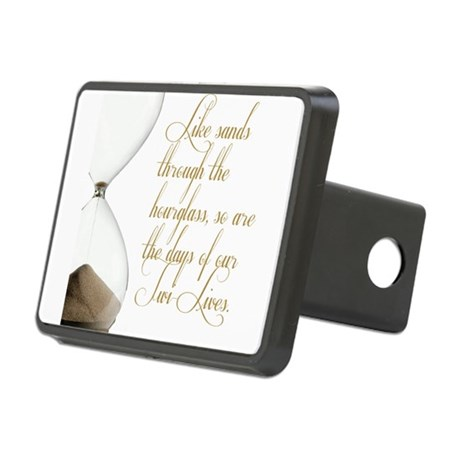 Days of our Twi-Lives Rectangular Hitch Cover