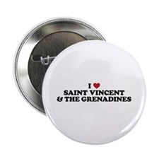 """I Love Saint Vincent and The Grenadines 2.25"""" Butt"""