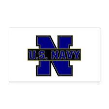 US Navy Rectangle Car Magnet