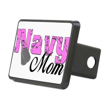 navymom99.png Rectangular Hitch Cover