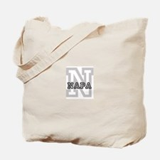 Napa (Big Letter) Tote Bag