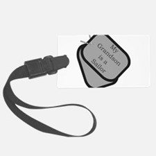 My Grandson is a Sailor dog t Luggage Tag