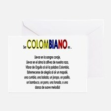 Ser Colombiano es Greeting Cards (Pk of 10)