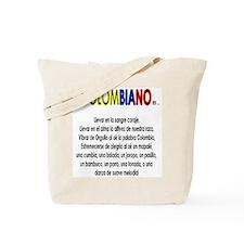 Ser Colombiano es Tote Bag