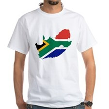 South Africa Flag and Map Shirt