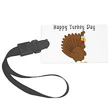 happyturkeyday.PNG Luggage Tag