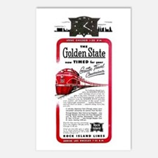 The Golden State Postcards (Package of 8)