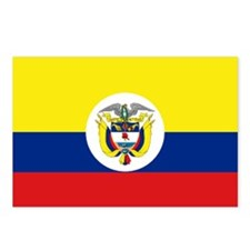 Colombia Insignia naval Postcards (Package of 8)