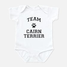 Team Cairn Terrier Infant Bodysuit
