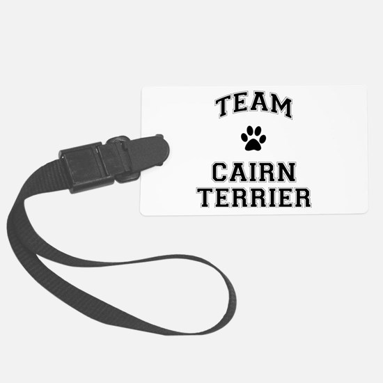 Team Cairn Terrier Luggage Tag