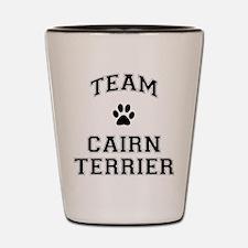Team Cairn Terrier Shot Glass
