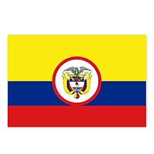 Bandera Presidencial Colombia Postcards (Package o