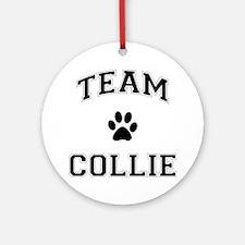 Team Collie Ornament (Round)