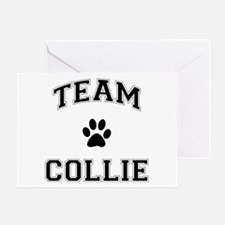 Team Collie Greeting Card