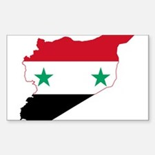 Syria Flag and Map Decal