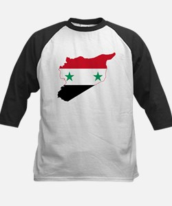 Syria Flag and Map Tee