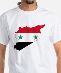 Syria Flag and Map Shirt