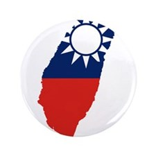 """Taiwan Flag and Map 3.5"""" Button (100 pack)"""