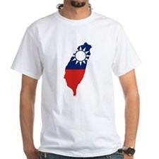 Taiwan Flag and Map Shirt